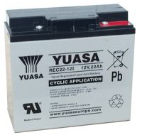 Yuasa REC22-12i 12v 22Ah Cyclic Battery From £41.66 EX VAT Buy Online from The Battery Shop